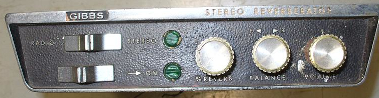 Car Reverb Unit http://www.preservationsound.com/?p=286
