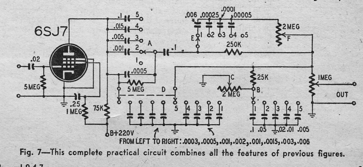 Schematics Preservation Sound Page 3 In Addition Push Pull Tube Schematic On 6sn7 Amplifier Download The Complete Article With Responseeq1947 You