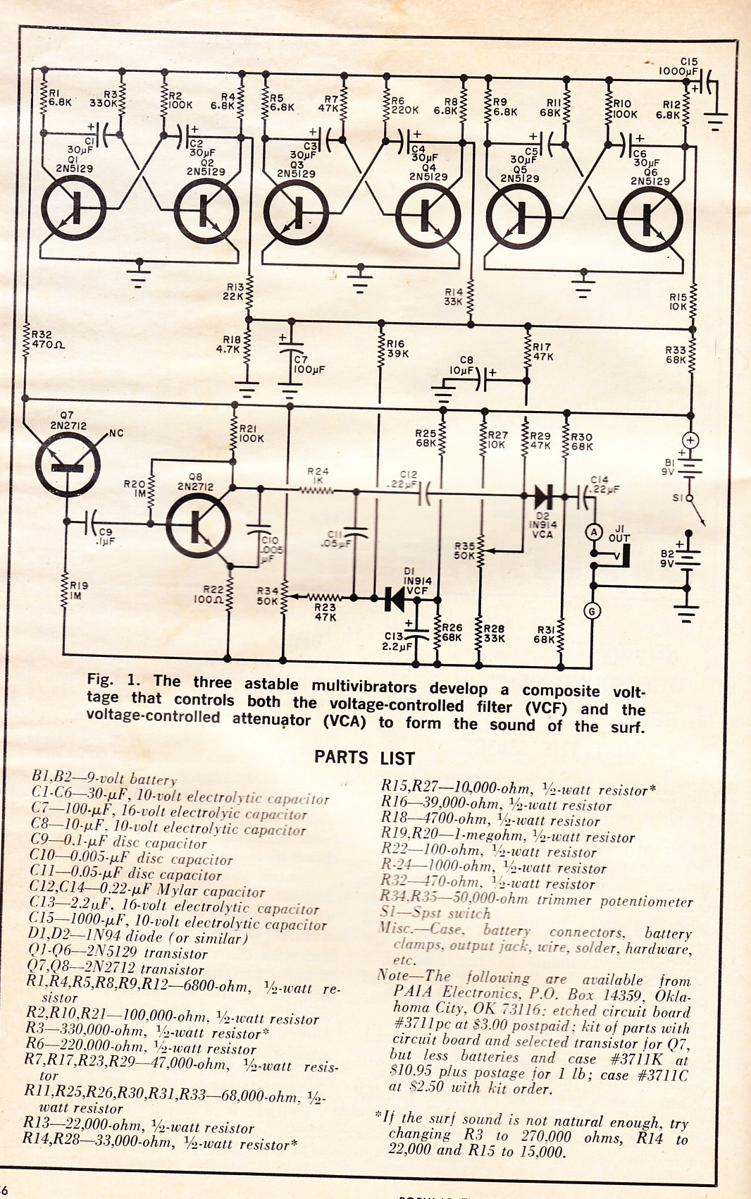 Radio Electronics Magazine Circuit Diagrams Integrated Wiring Simple Electronic Circuits Projects Electrical Work Rh Wiringdiagramshop Today For