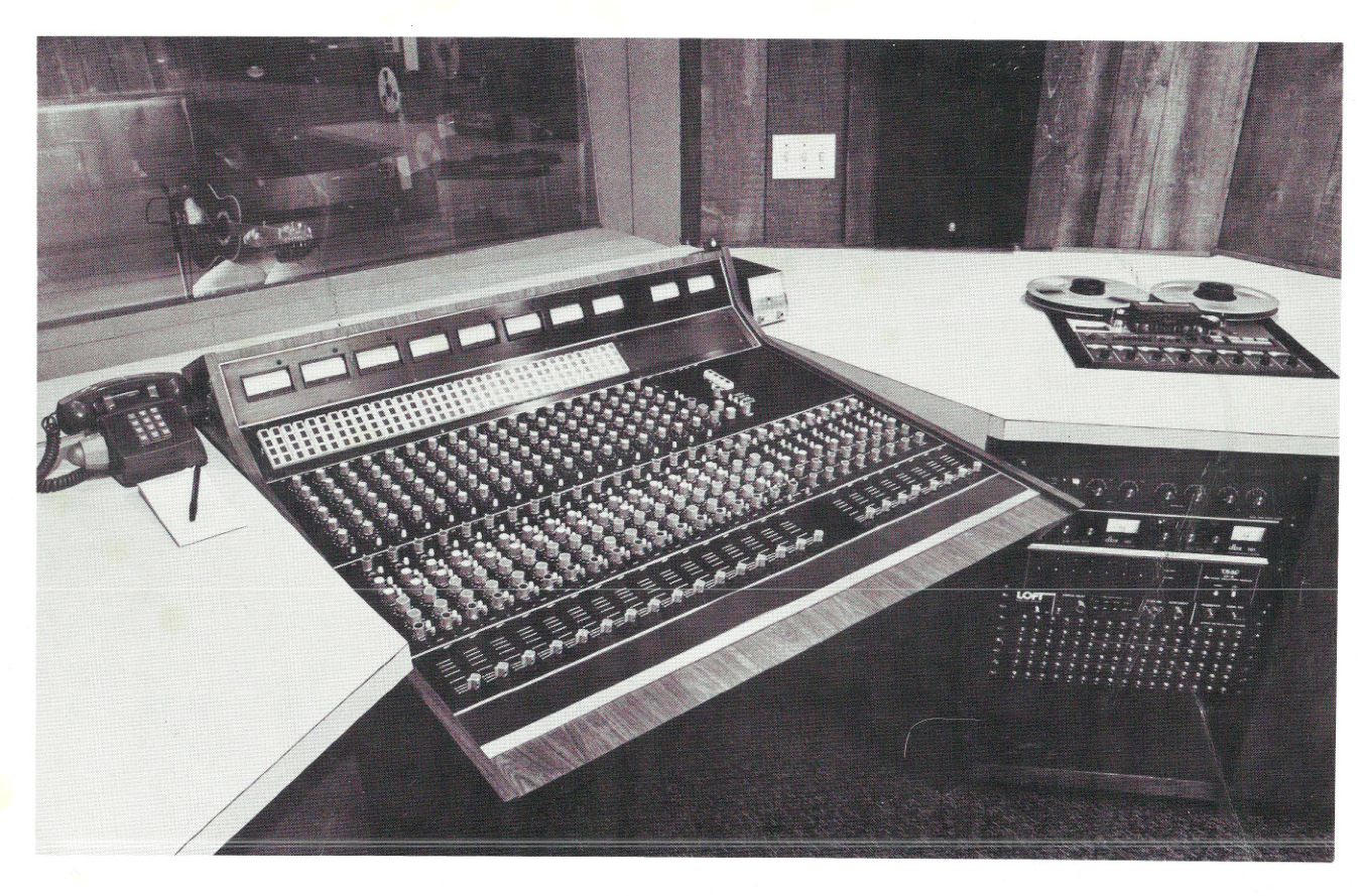Loft Recording Consoles Circa Mid 1970s Update Preservation Sound Audio Mixers Projects Circuits 7 Pictured
