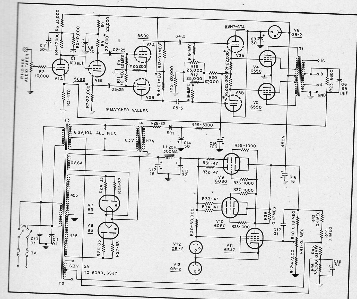 May 2011 Preservation Sound Wiring Diagram Light Switch 7 Diy Electrical Pinterest A 50 Watt Ultralinear Power