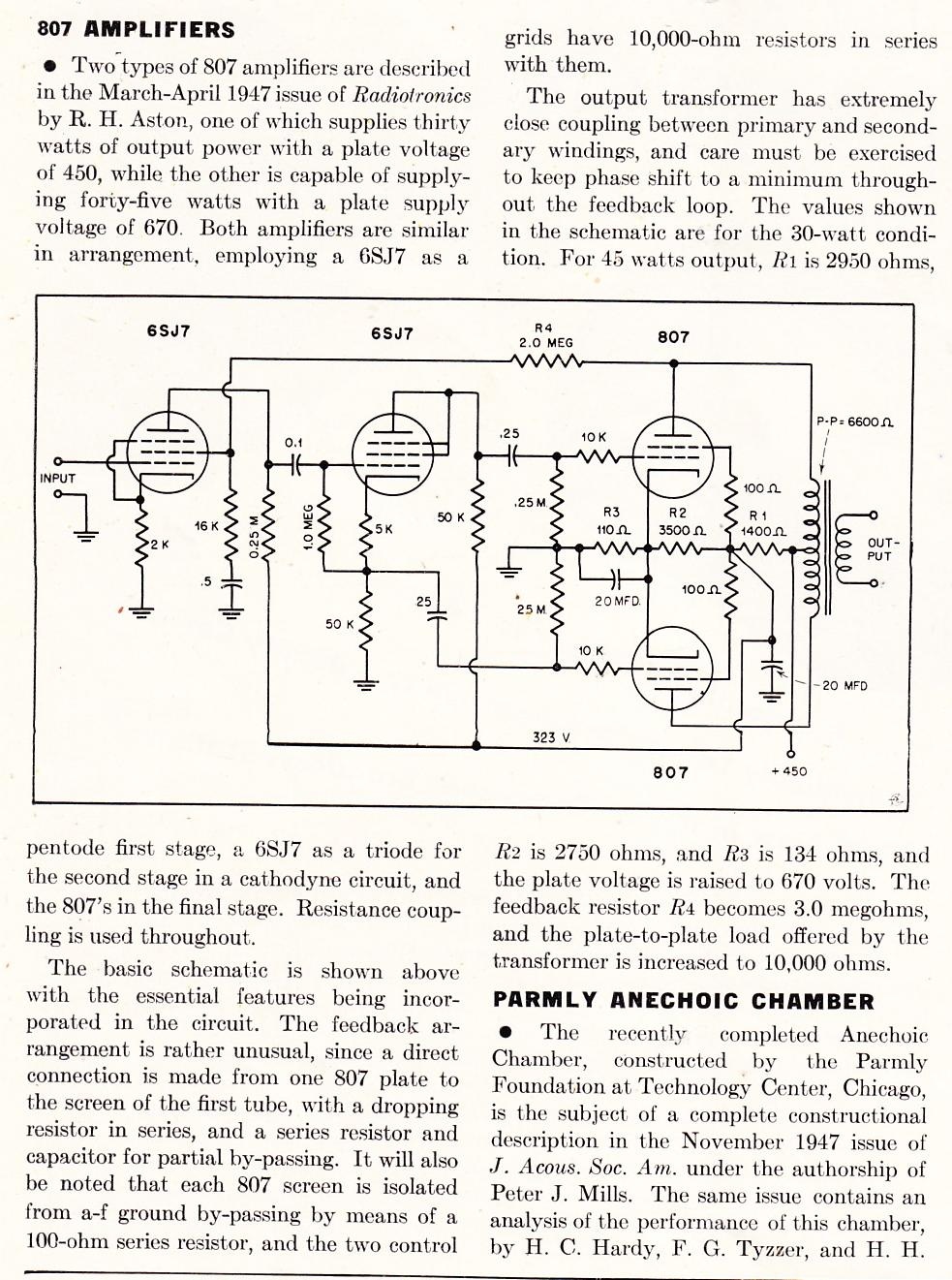 on rca radio schematics
