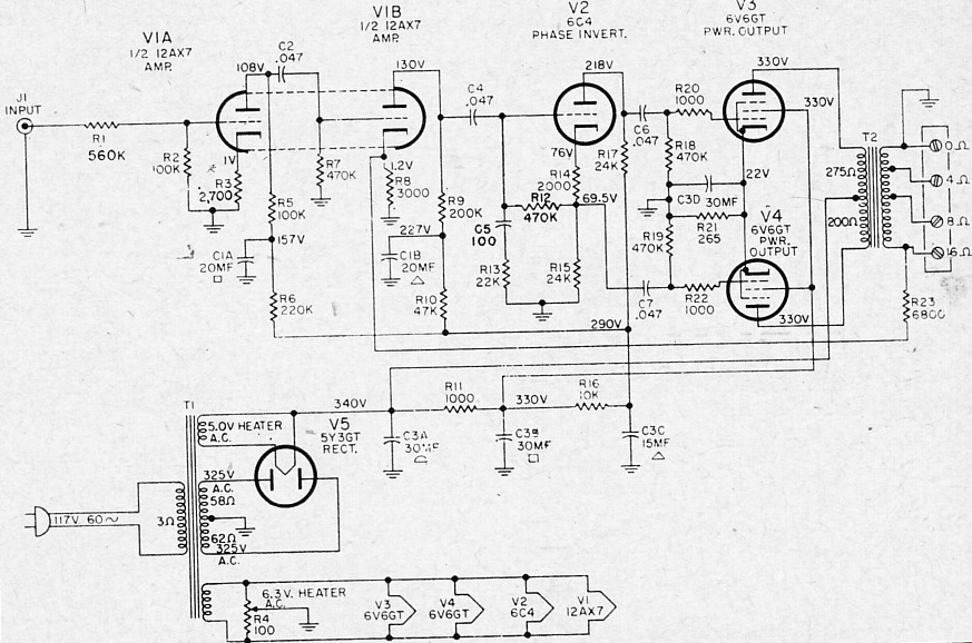 on transformer schematics