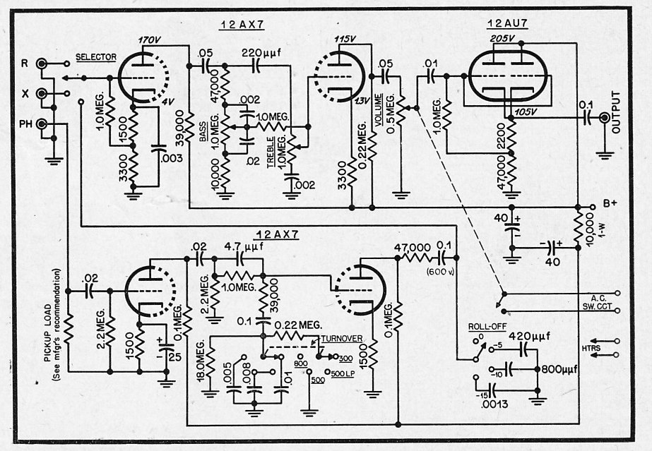 6sn7 eq schematic