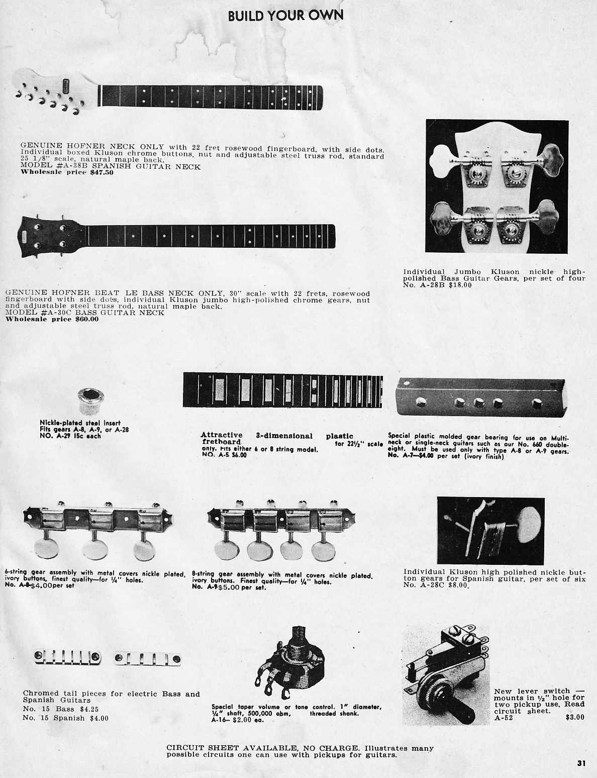 guitar equipment