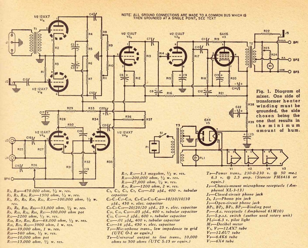 Schematics Preservation Sound Page 2 Simple Low Battery Indicator Circuit As Well Tube Tone Control Mixerschematics
