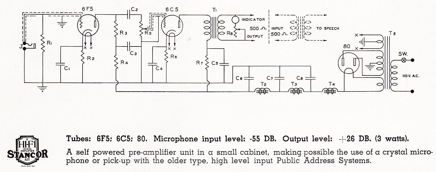 Technical Preservation Sound Page 5 Microphone Tube Pre Schematic Furthermore Vacuum Lifier Above