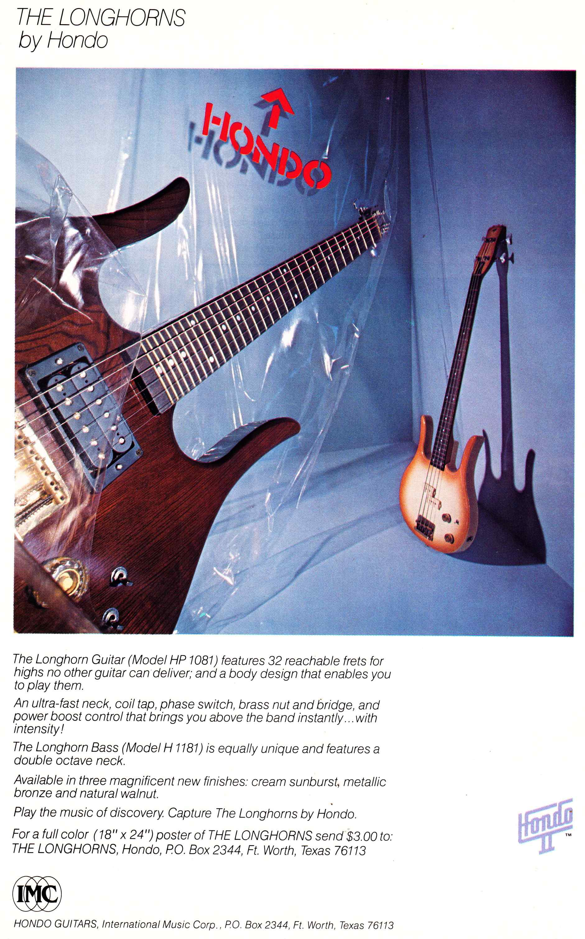 Hondo ii guitars circa 1980 preservation sound the hondo swarovskicordoba