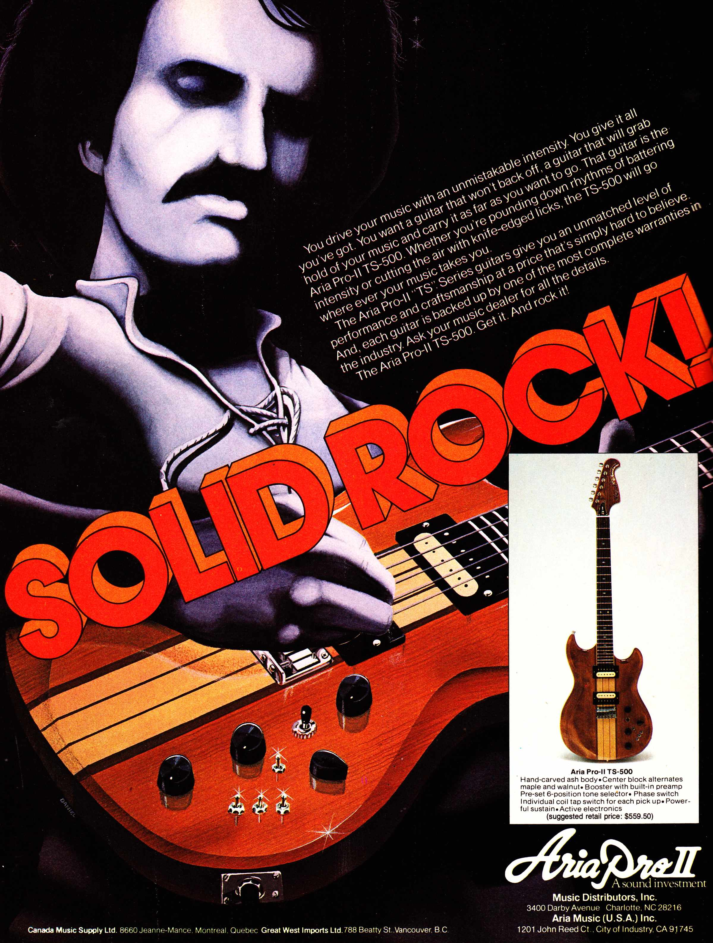 Pawnshop Classics Off Brand Japanese Guitars Of The Late 70s Vantage Guitar Wiring Diagram Its A Super Strat Hippie Sandwich Mock Bc Rich Aria Ii Was Better Known For Their Basses But Plenty Were Sold As Well