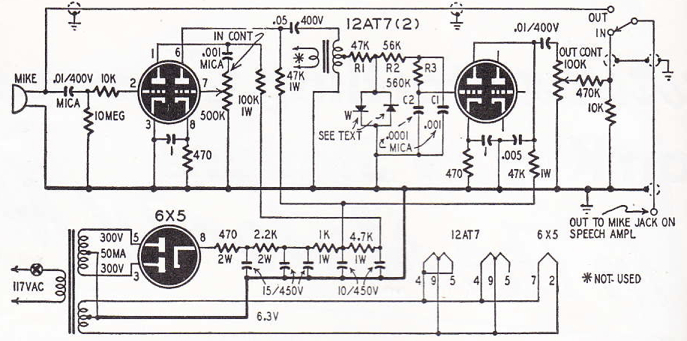 audio compressor wiring diagram