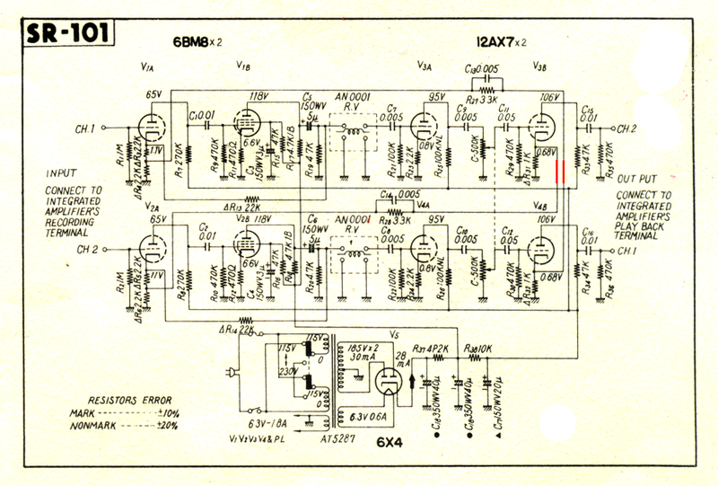 pioneer power amplifier schematic diagram