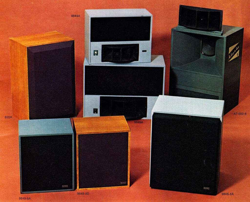 Altec_Studio_Speakers_1976