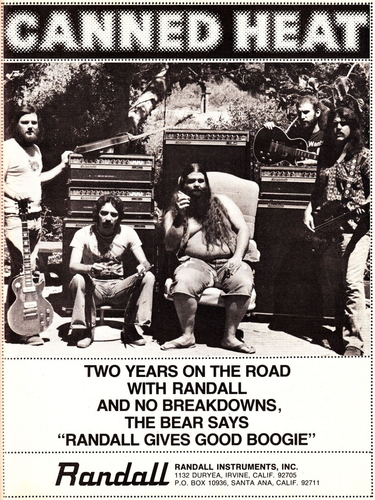 Canned_Heat_Randall_ad_1977