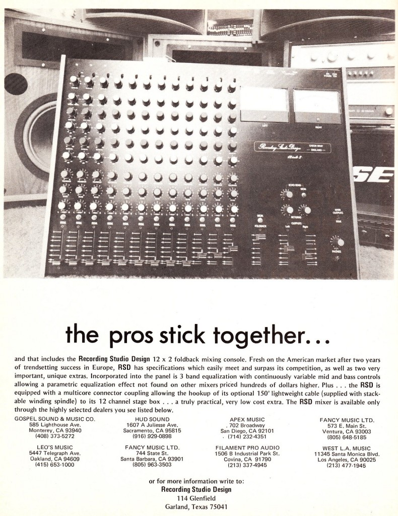RecordingStudioDesign_Mixer_1977