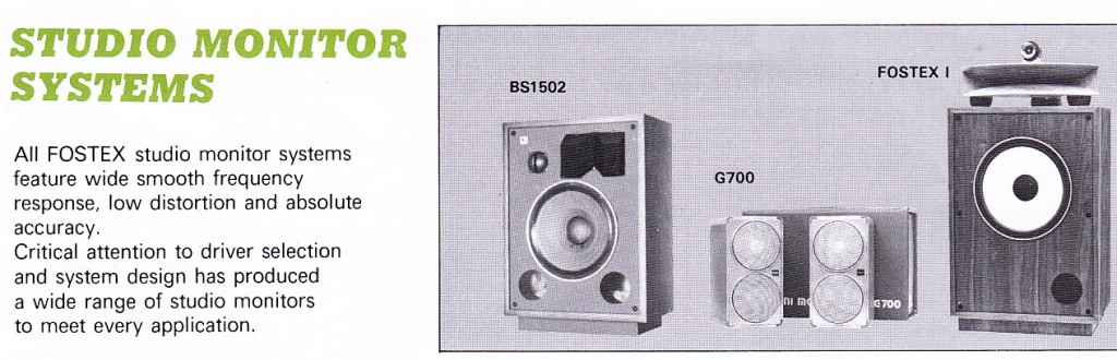 Fostex_Studio_Monitors_1981