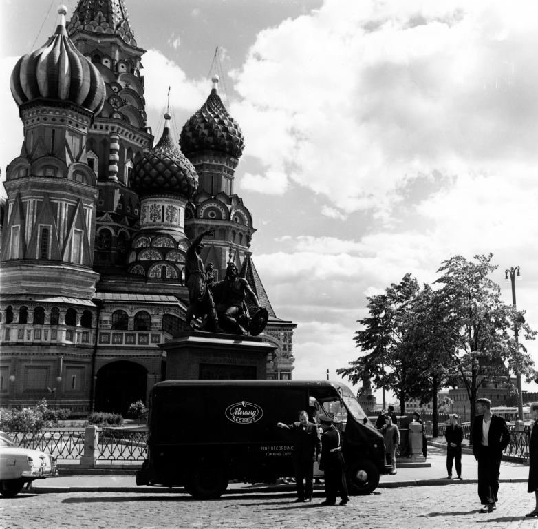 1960's Early - Truck in Moscow Red Square