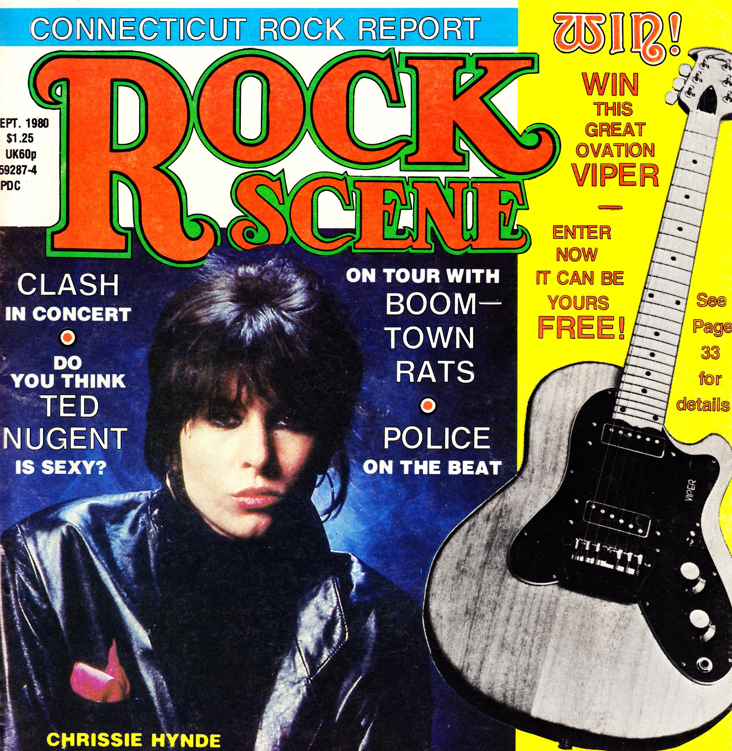 Rock Scene Was A Musician Oriented Newsprint Rag Published Out Yamaha Rx17 Circuit Bending Schematic By Eraser Circuitbentit Download The 1980 Ct Report