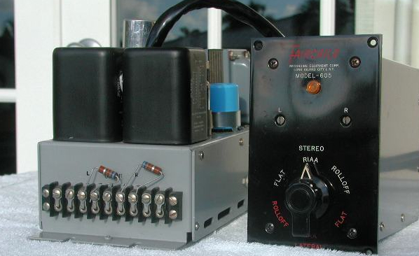 The Fairchild Model 605 Stereo Tube Phono Preamp c  1959
