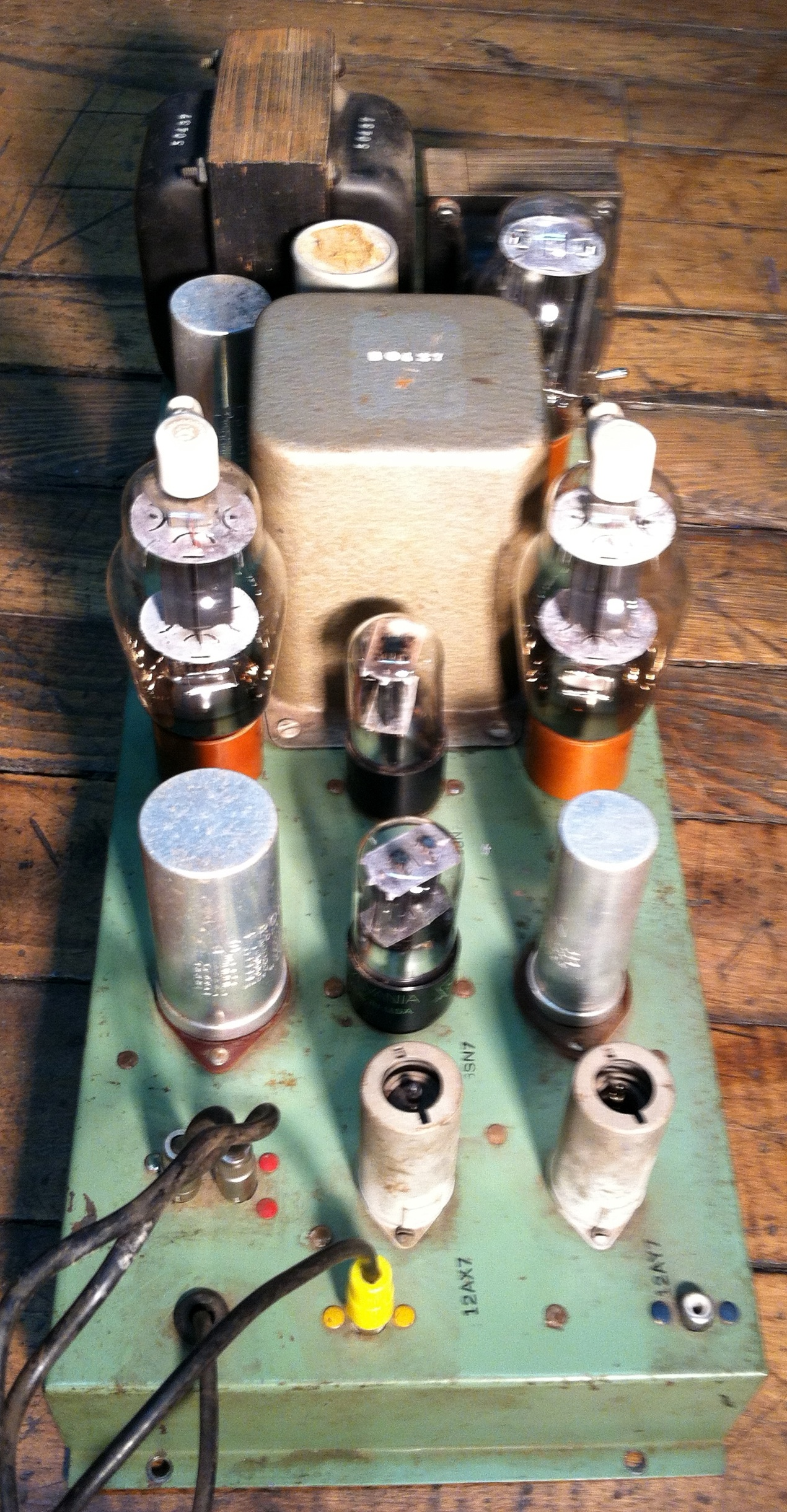 Vacuum Tube Hi Fi Preservation Sound Simple Audio Preamp Circuit Schematic Diagram Of Volume