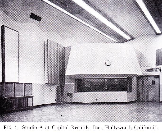 Capitol Records Studios Circa 1960 – Preservation Sound