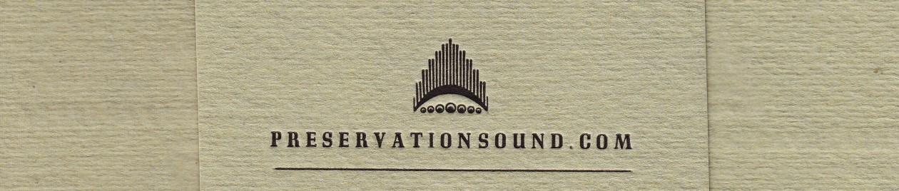 Preservation Sound