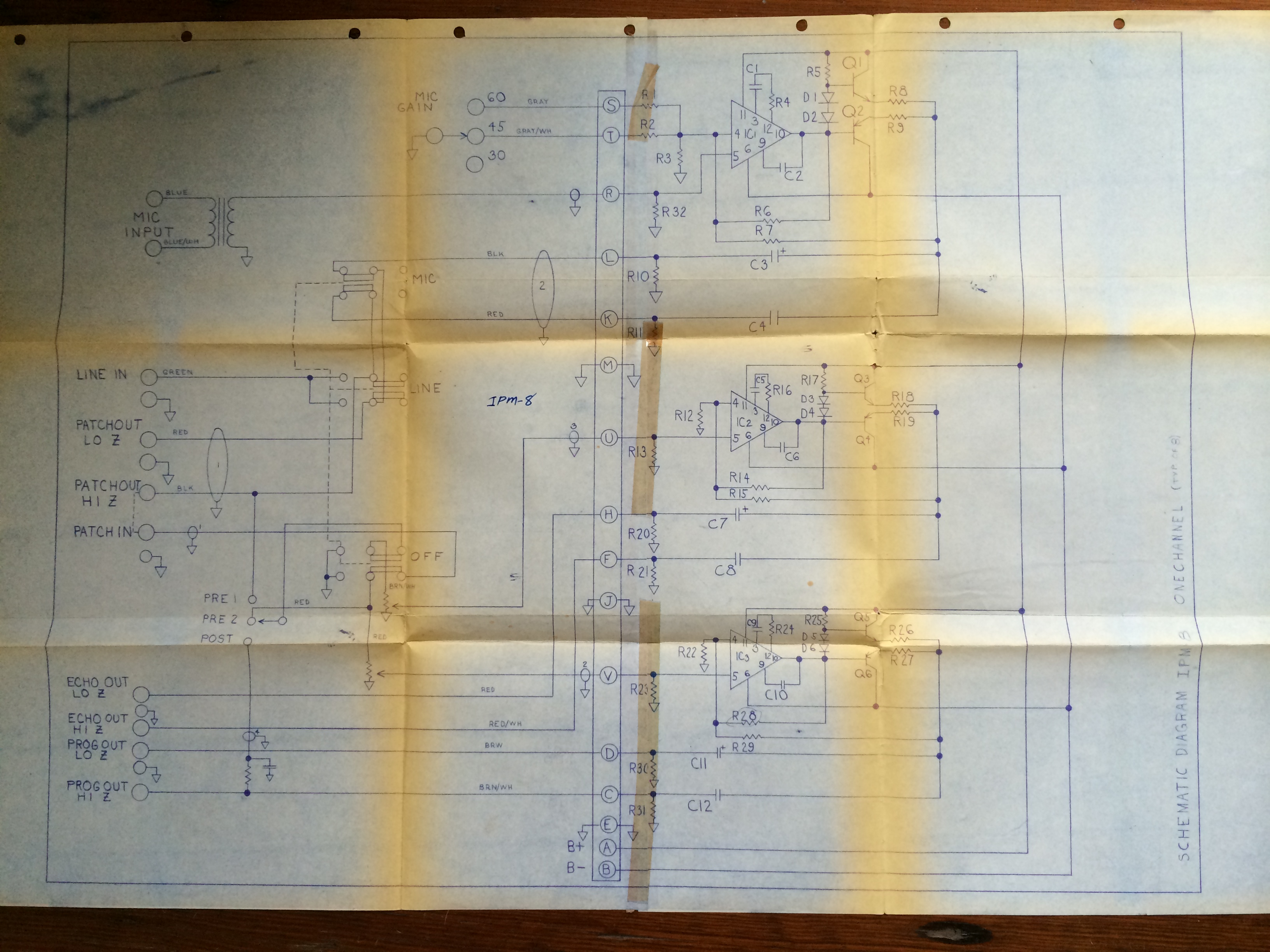 Mixers Preservation Sound Vacuum Tube Schematics February 2013 Gately Ipm8 Channel